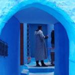 青い地上の迷宮の中に漂う。【モロッコ・シャウエン vol.01】