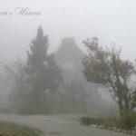 霧の中に浮かぶ、幻の桃源郷。【長野 白川郷】